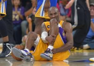Lakers Beat Warriors But Lose Kobe
