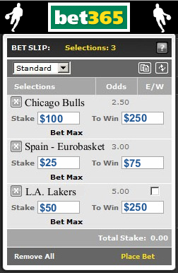bet365 nba betting